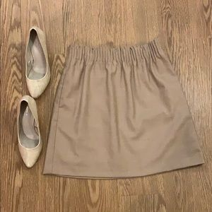 NWT tan JCrew skirt 💫